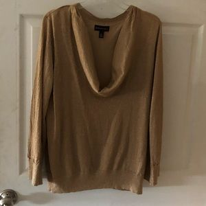 Elegant Cowl Neck Top